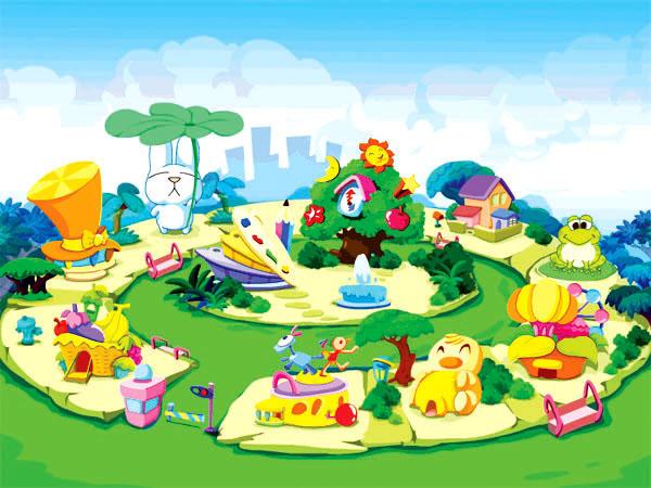 幼儿园门牌卡通图片